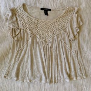 Forever21 Lace Shirt